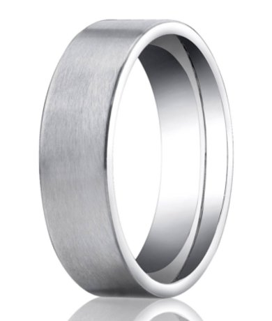 feature - Mens Platinum Wedding Ring