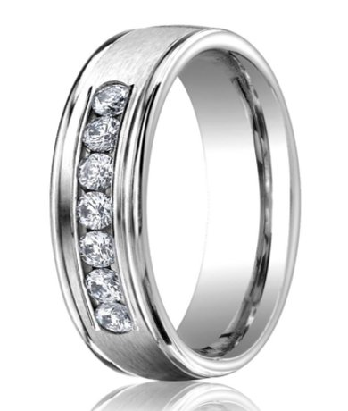 feature - Mens Wedding Rings Platinum