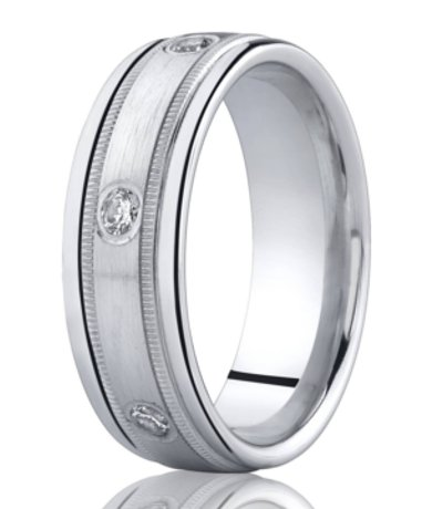 bands wide h cfm diamond si platinum carat item ring