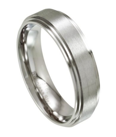rings stainless wedding beautiful magnificent nobby steel image of