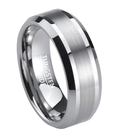 Charming Feature: Description; Customer Reviews; Product Features. Description.  Sophisticated And Masculine, This Tungsten Menu0027s Wedding Ring ...